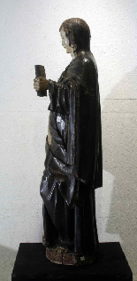 Wooden sculpture, Santa Caterina, Siena, 15th century-3
