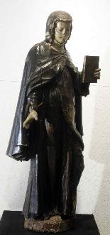 Wooden sculpture, Santa Caterina, Siena, 15th century-6