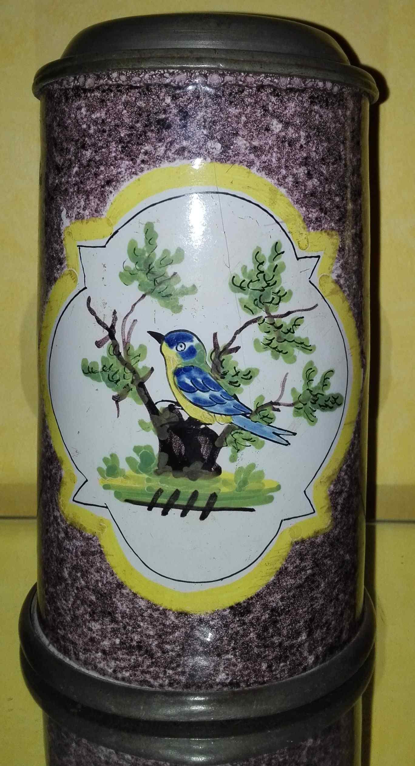 Германия Байройт Chope право керамики, украшенной