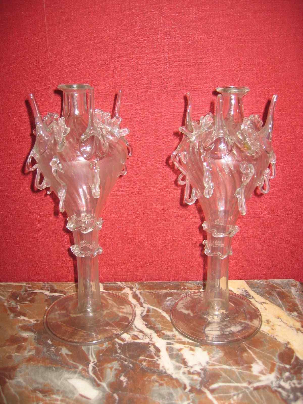 Almorratxa aspersoirs à eau de rose  verre soufflé Catalogne