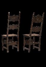 Coppia di sedie fratine-1