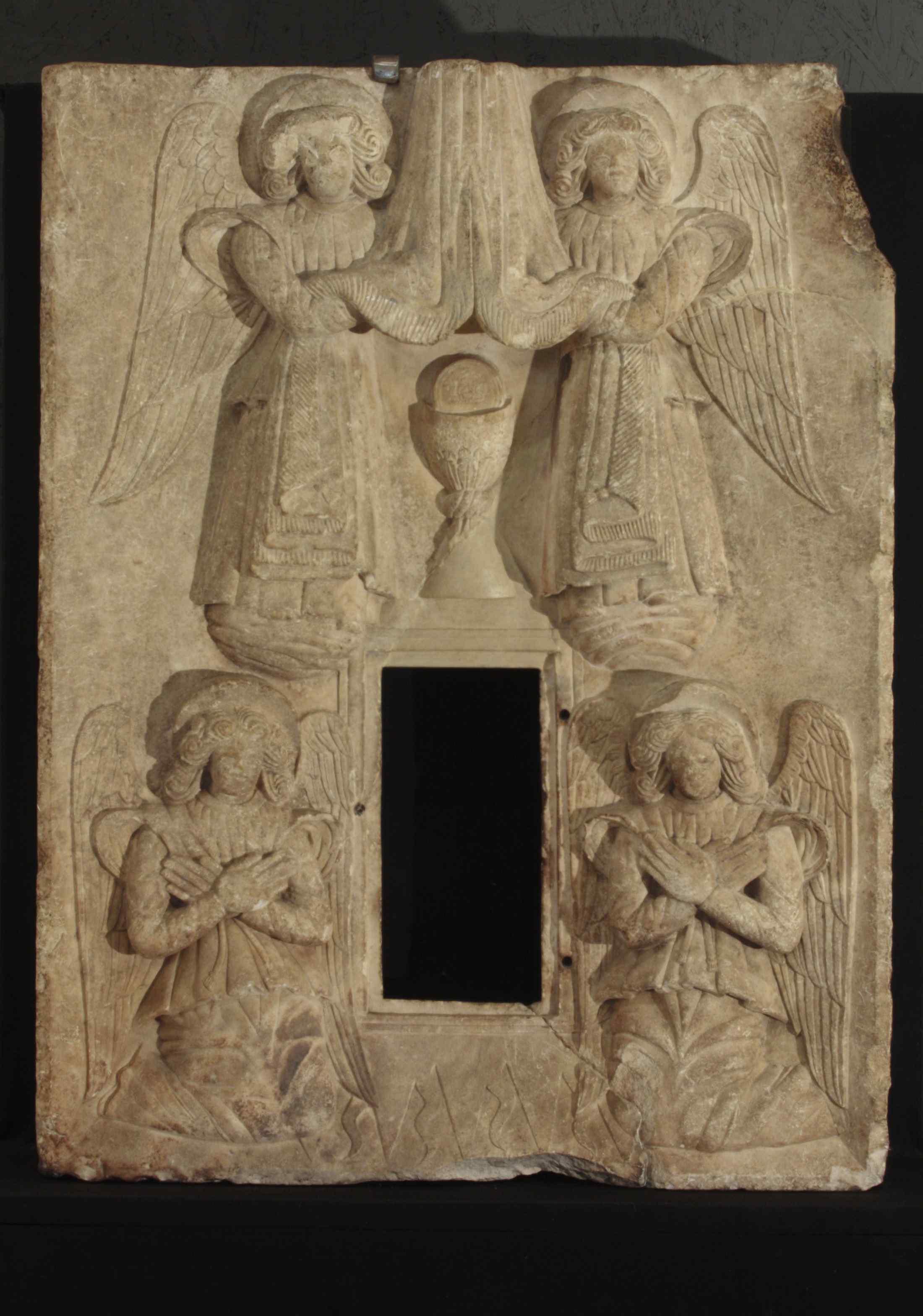 Stone tabernacle, Abruzzo, 15th century