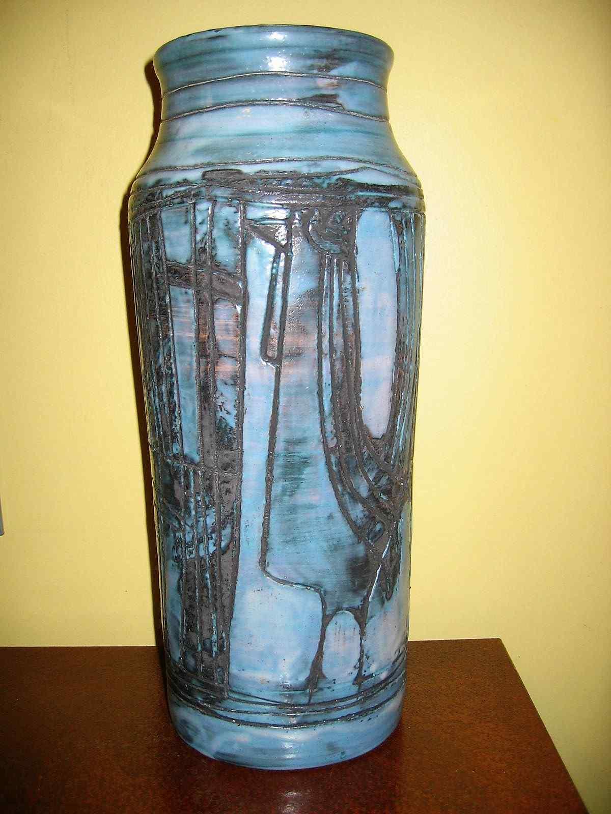 JACQUES POUCHAIN Grand vase