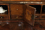 A 18TH CENTURY ITALIAN BUREAU BOOKCASE WITH FOLDING TOP-17