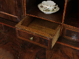 A 18TH CENTURY ITALIAN BUREAU BOOKCASE WITH FOLDING TOP-16