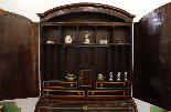 A 18TH CENTURY ITALIAN BUREAU BOOKCASE WITH FOLDING TOP-3