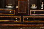 A 18TH CENTURY ITALIAN BUREAU BOOKCASE WITH FOLDING TOP-6