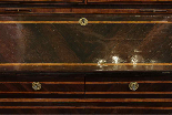 A 18TH CENTURY ITALIAN BUREAU BOOKCASE WITH FOLDING TOP-15
