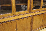 Louis Philippe bookcase in blond mahogany-6
