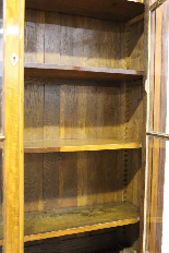 Louis Philippe bookcase in blond mahogany-7