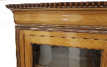 Louis Philippe bookcase in blond mahogany-0