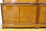 Louis Philippe bookcase in blond mahogany-1