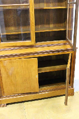 Louis Philippe bookcase in blond mahogany-3