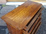 Антикварный комод Луи-Филиппа в ореховом орехе - 19 век-14