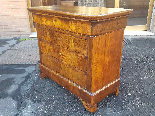 Antique Louis Philippe Commode Chest of drawers walnut -19th-4