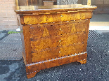 Antique Louis Philippe Commode Chest of drawers walnut -19th-1