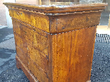 Antique Louis Philippe Commode Chest of drawers walnut -19th-10