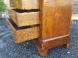 Antique Louis Philippe Commode Chest of drawers walnut -19th-16
