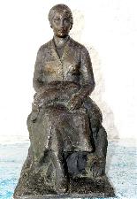 Jaume DURAN La giovane donna con il cane in bronzo Art Deco-5