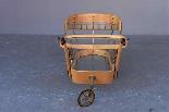 Aldo Tura barre de chariot parchemin-2