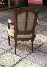 Paire de fauteuils d'époque XVIIImeme LOUIS XVI-2