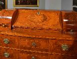 Ribalta Luigi XVI intarsiata, Città di Trento, XVIII secolo-3