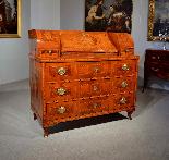 Ribalta Luigi XVI intarsiata, Città di Trento, XVIII secolo-11