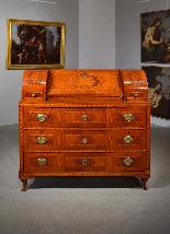 Ribalta Luigi XVI intarsiata, Città di Trento, XVIII secolo-1