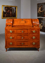 Louis XVI inlaid limelight, City of Trento, 18th century-15