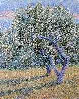 Orchard Blanche Августин Камю Неоимпрессионизм-8