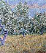 Orchard Blanche Августин Камю Неоимпрессионизм-6