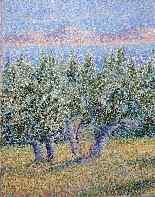 Orchard Blanche Augustine CAMUS Neoimpressionismo-5