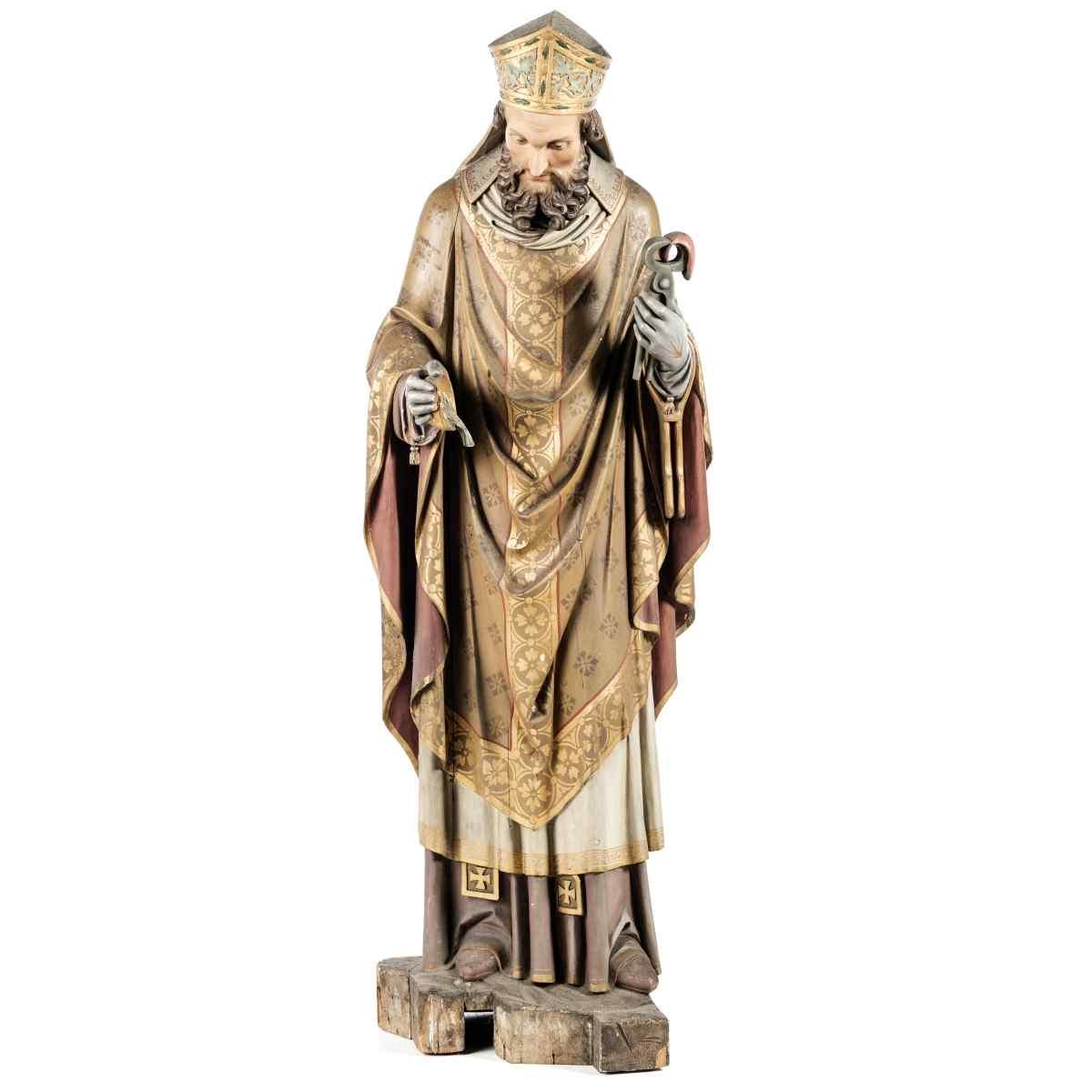 Sculpture européenne du 700 Sec. XVIII 160cm