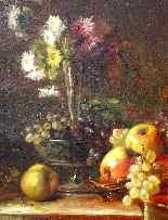 Natura Morta, Brunel de Neuville XIX secolo-3