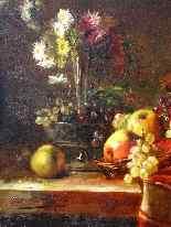 Natura Morta, Brunel de Neuville XIX secolo-6