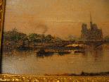 Рене LIGERON 1880-1946 Вид Сены в Париже-2