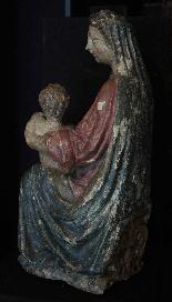 Madonna con Bambino, Siena, Sec. XV-3