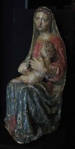 Madonna con Bambino, Siena, Sec. XV-2