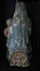 Madonna con Bambino, Siena, Sec. XV-4