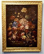 Natura morta con vaso di fiori-2