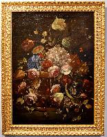 Nature morte avec pot de fleurs-1