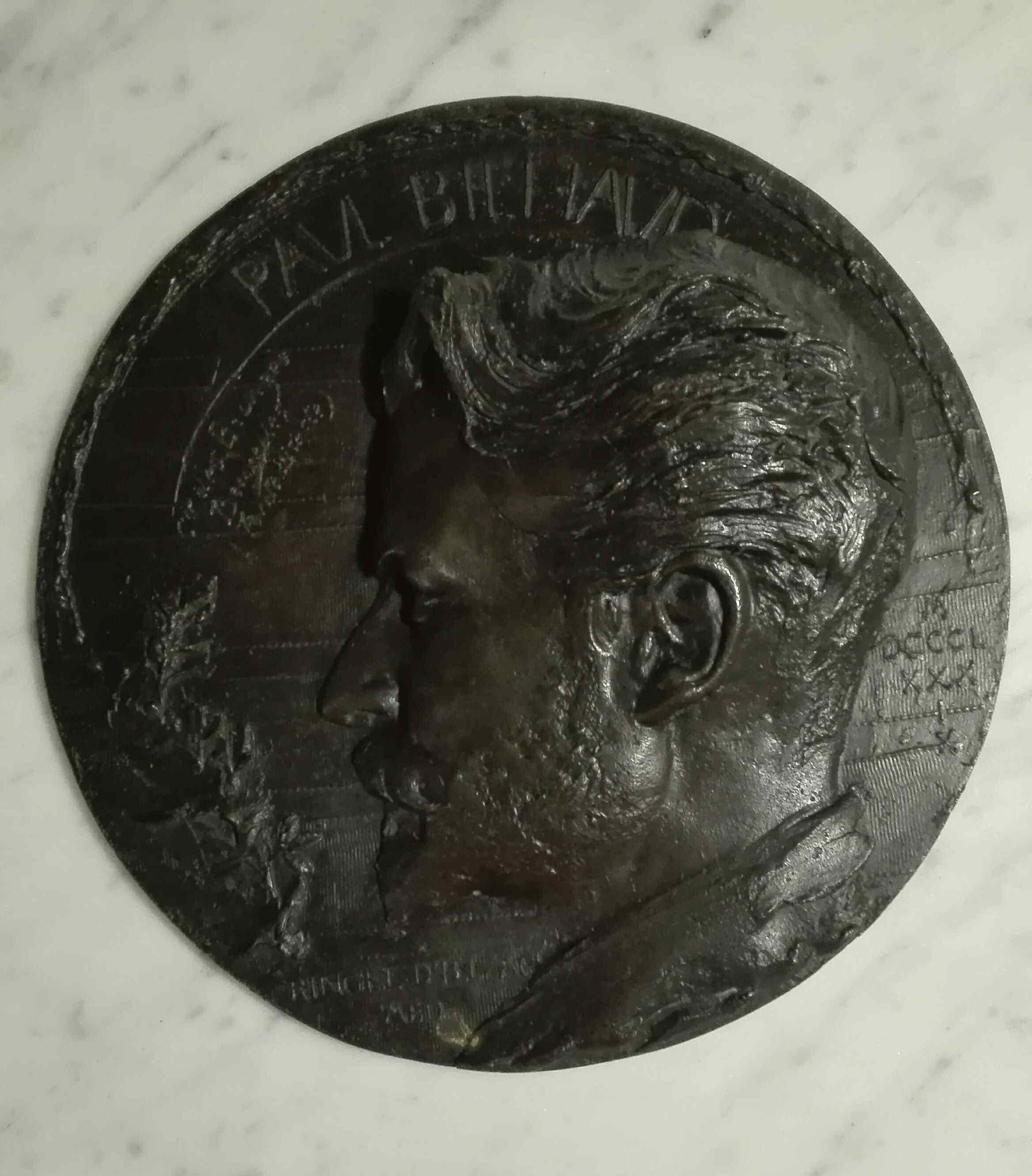 Jean Désiré RINGEL DI ILLZACH 1849-1916 Paul Bihaud ritratto