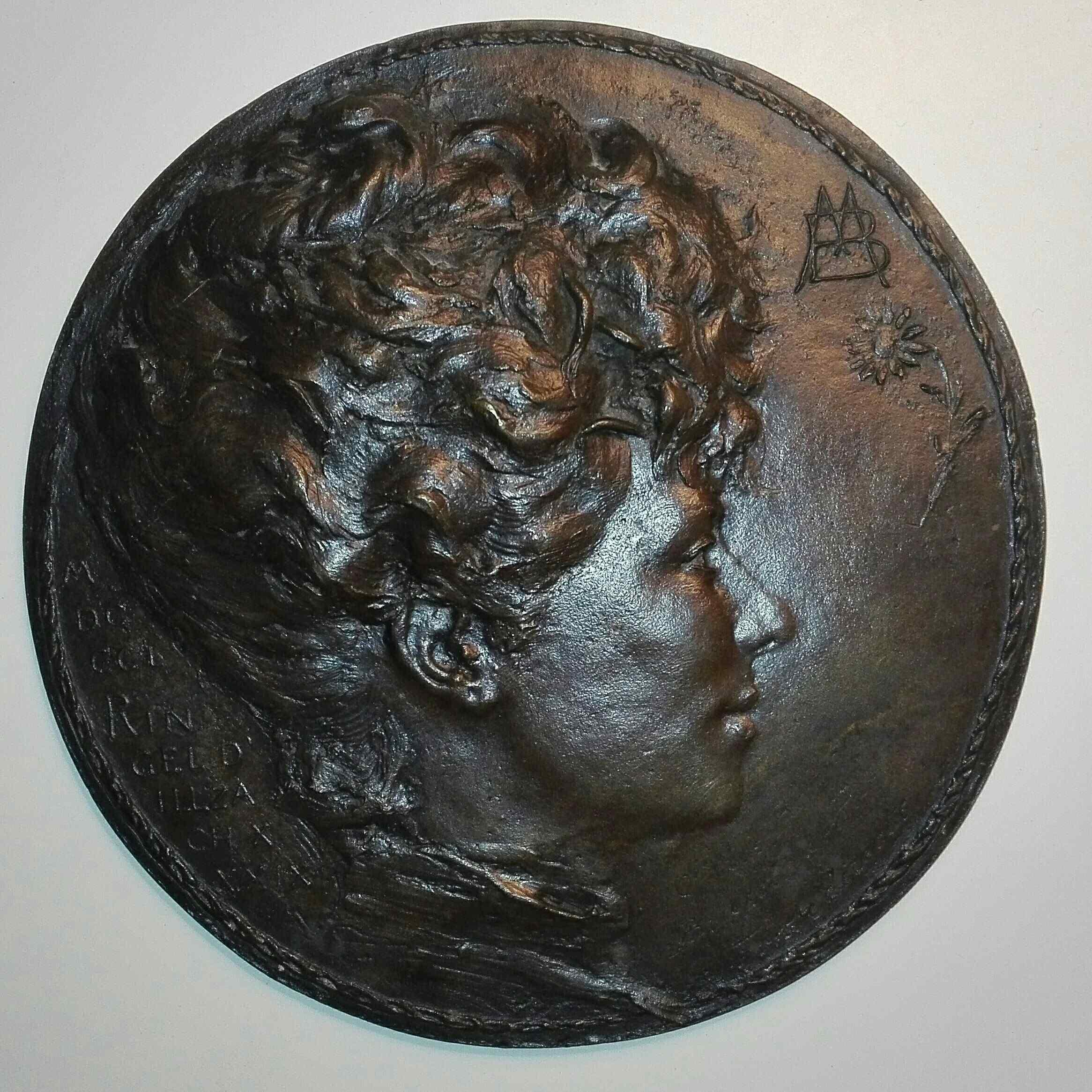 Jean Désiré RINGEL D'ILLZACH 1849-1916  portrait femme