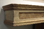 Mensola laccata e dorata Sec  XVIII-2