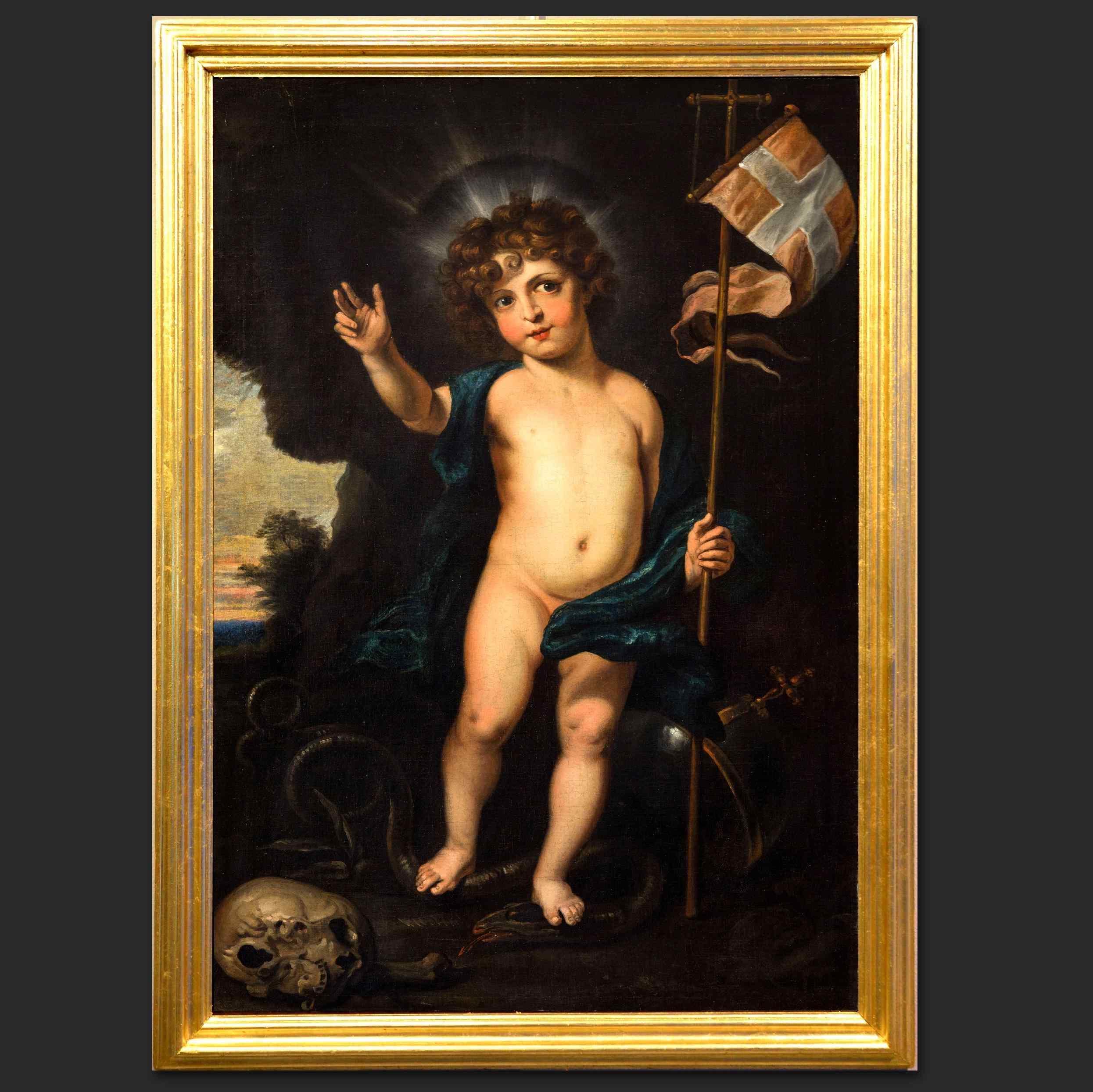 Младенец Христос «Salvator Mundi», мастерская Антониса ван Дейка