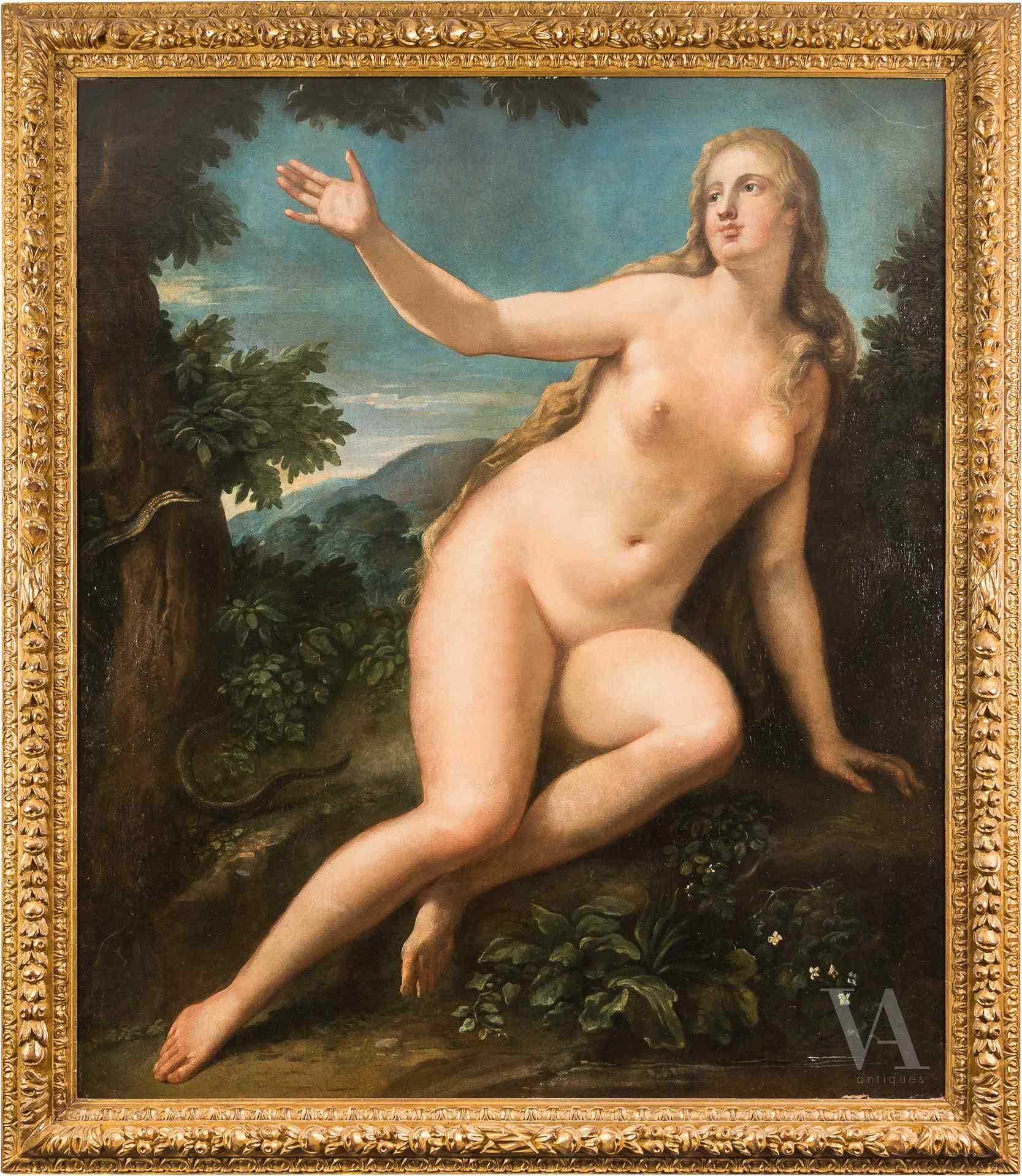 Niccolò Bambini, Eve dans le jardin d'Eden