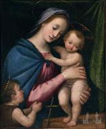 Vincenzo RUSTICI , La Madone au Christ-1