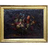 Willem van Aelst 1627-1683 Rare Pair of Flower Baskets-14