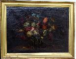 Willem van Aelst 1627-1683 Rare Pair of Flower Baskets-7