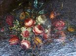 Willem van Aelst 1627-1683 rari cesti di fiori Coppia-6